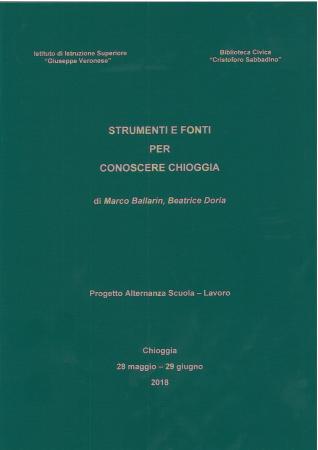 Strumenti e fonti per conoscere Chioggia
