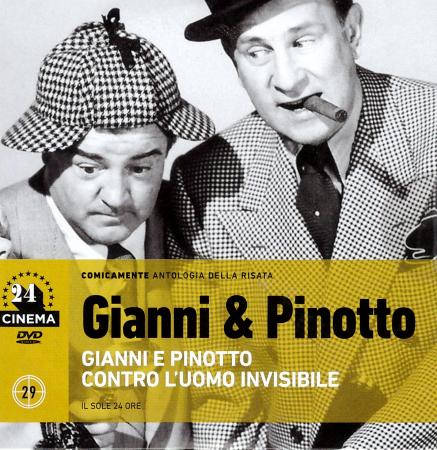 Gianni e Pinotto contro l'uomo invisibile [DVD]