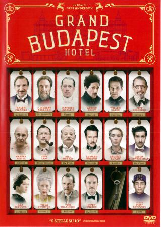 Grand Budapest Hotel [DVD]